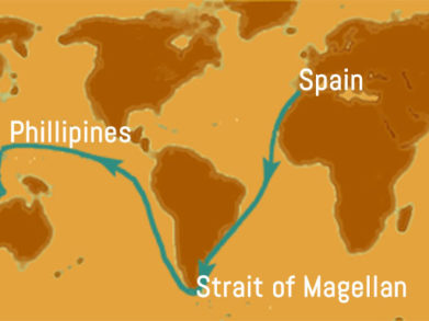 Magellan's Route